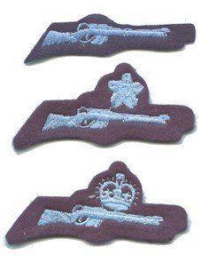 CCF RAF Shooting Badges