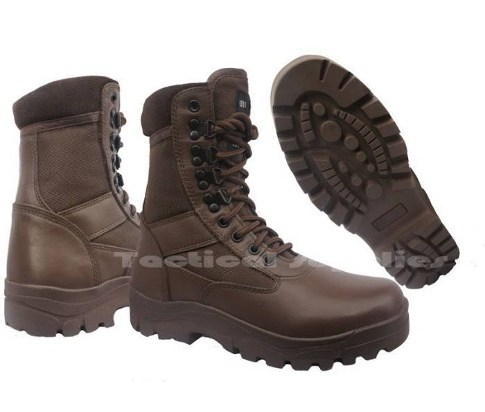 cadet boots brown leather for atc afc ccf