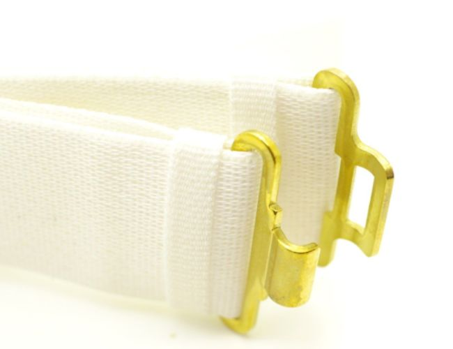 White Military cadets parade belts 06e08356b4d