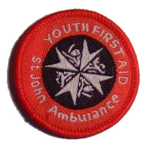 Youths First Aid Badge For Cadets